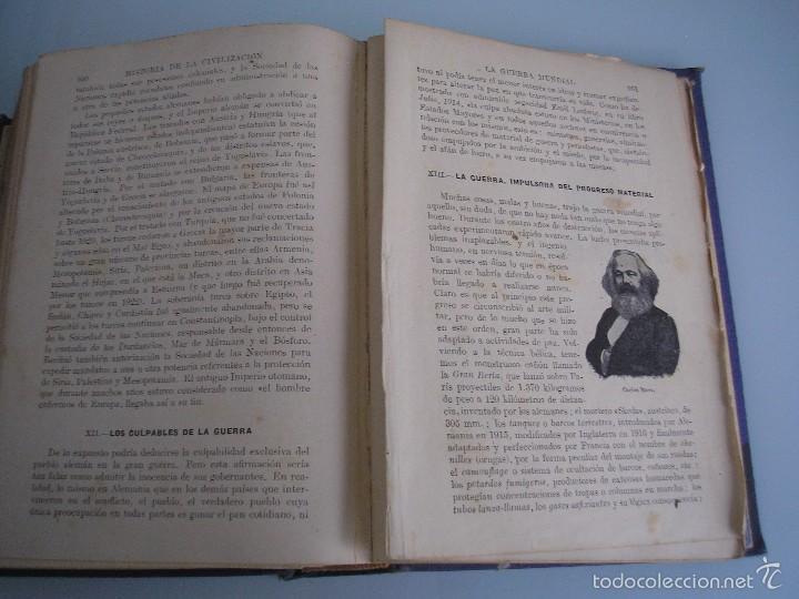Libros antiguos: Historia de la Civilización - A. Herrero Miguel - Editorial Sopena - 1935 - Foto 12 - 55887978