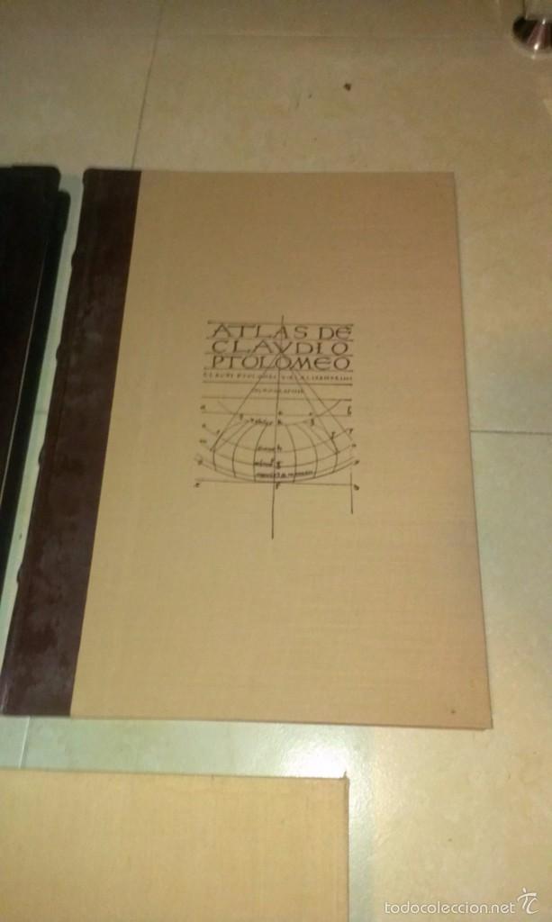 Libros antiguos: ATLAS DE CLAUDIO PTOLOMEO COSMOGRAFÍA - Foto 2 - 56049776