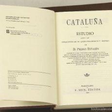 Libros antiguos: 7388 - CATALUÑA. FACSÍMIL. PEDRO ESTASÉN. EDITOR F. SEIX. 1900.. Lote 56226205