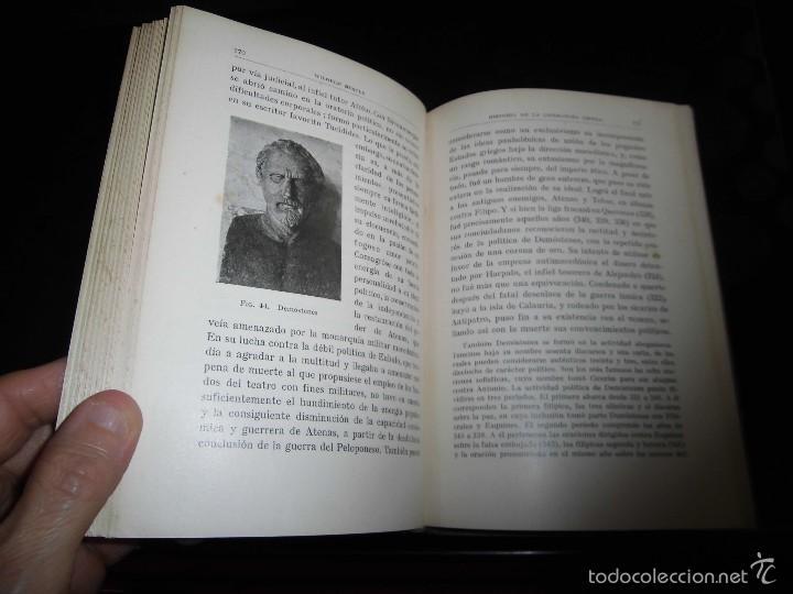 Libros antiguos: HISTORIA DE LA LITERATURA GRIEG.WILHELM NESTLE.EDITORIAL LABOR 1930 - Foto 5 - 56313126