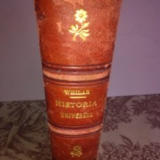 Libros antiguos: HISTORIA UNIVERSAL. Lote 56589694