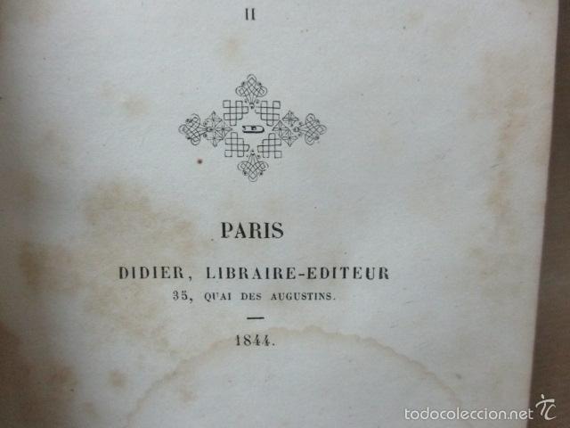 Libros antiguos: Historie Romaine - M. Le Comte de Ségur - año 1844 (en francés) 532 pag. (ver fotos) - Foto 12 - 56660571