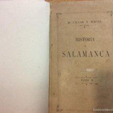 Alte Bücher - Historia de Salamanca tomo II - 56696165