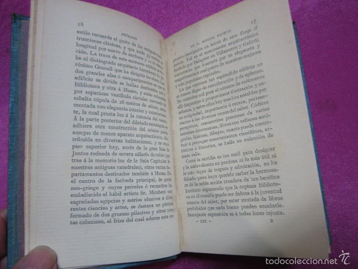 Libros antiguos: LAS RUINAS DE POBLET VICTOR BALAGUER COLECCION ESCRITORES CASTELLANOS 1ª EDICION 1885. - Foto 6 - 57106565