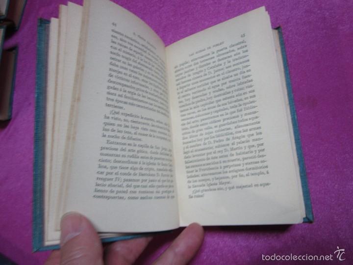 Libros antiguos: LAS RUINAS DE POBLET VICTOR BALAGUER COLECCION ESCRITORES CASTELLANOS 1ª EDICION 1885. - Foto 7 - 57106565