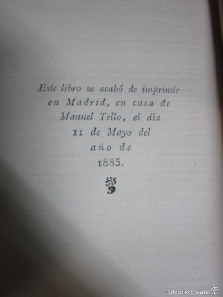 Libros antiguos: LAS RUINAS DE POBLET VICTOR BALAGUER COLECCION ESCRITORES CASTELLANOS 1ª EDICION 1885. - Foto 9 - 57106565