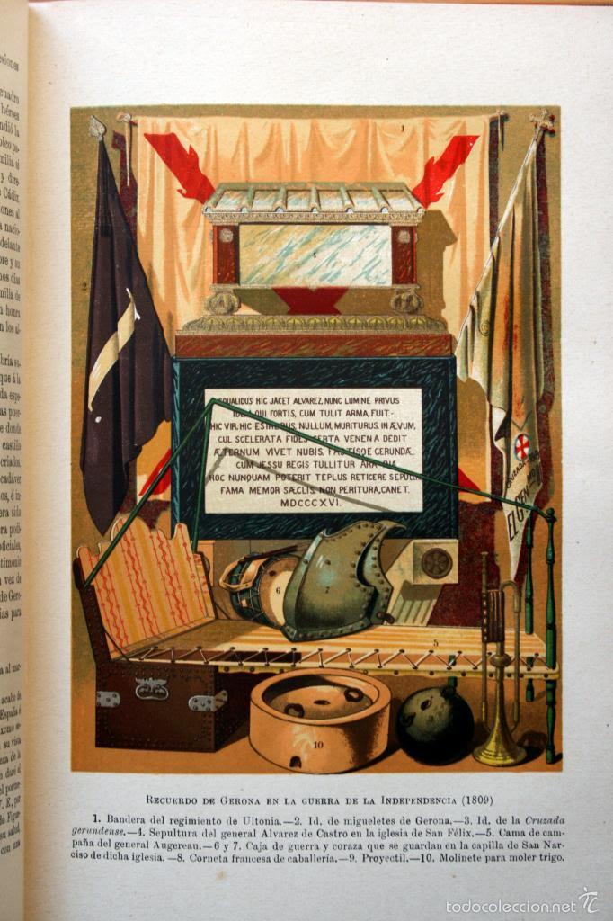 HISTORIA ESPAÑA - LAFUENTE - TOMO 17 - DESDE 1809 A 1814 - CON LÁMINAS COLOR (Libros antiguos (hasta 1936), raros y curiosos - Historia Antigua)