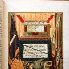 Libros antiguos: HISTORIA ESPAÑA - LAFUENTE - TOMO 17 - DESDE 1809 A 1814 - CON LÁMINAS COLOR. Lote 57148183