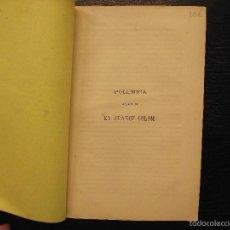 Libros antiguos: POLEMICA ACERCA DE EN JUANOT COLOM, RESPUESTA A LOS ARTICULOS. Lote 57216400
