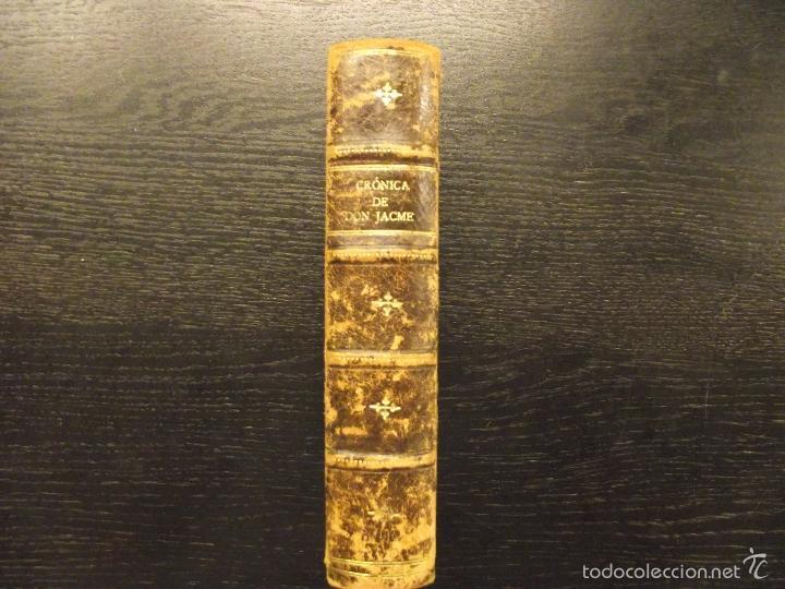 Libros antiguos: LIBRE DELS FEYTS EN JACME LO CONQUERIDOR, 1843, CRONICA DE DON JAIME EL CONQUISTADOR MALLORCA,RIQUER - Foto 2 - 57326916
