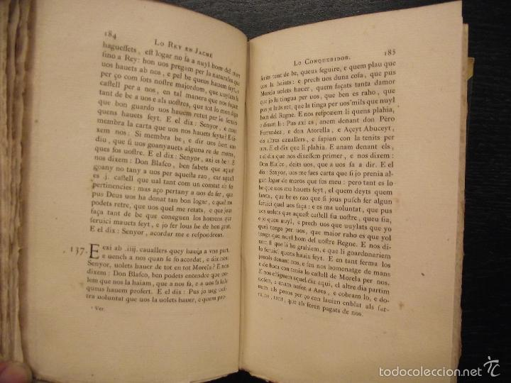 Libros antiguos: LIBRE DELS FEYTS EN JACME LO CONQUERIDOR, 1843, CRONICA DE DON JAIME EL CONQUISTADOR MALLORCA,RIQUER - Foto 3 - 57326916