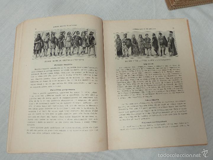 Libros antiguos: HISTORIA (GENERAL) DE CATALUNYA / M. SERRA I ROCA - EDITOR M. SEGUÍ - 1910 A 1922 - COMPLETA - Foto 6 - 57349680