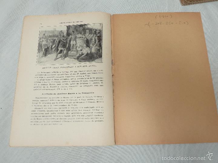 Libros antiguos: HISTORIA (GENERAL) DE CATALUNYA / M. SERRA I ROCA - EDITOR M. SEGUÍ - 1910 A 1922 - COMPLETA - Foto 8 - 57349680