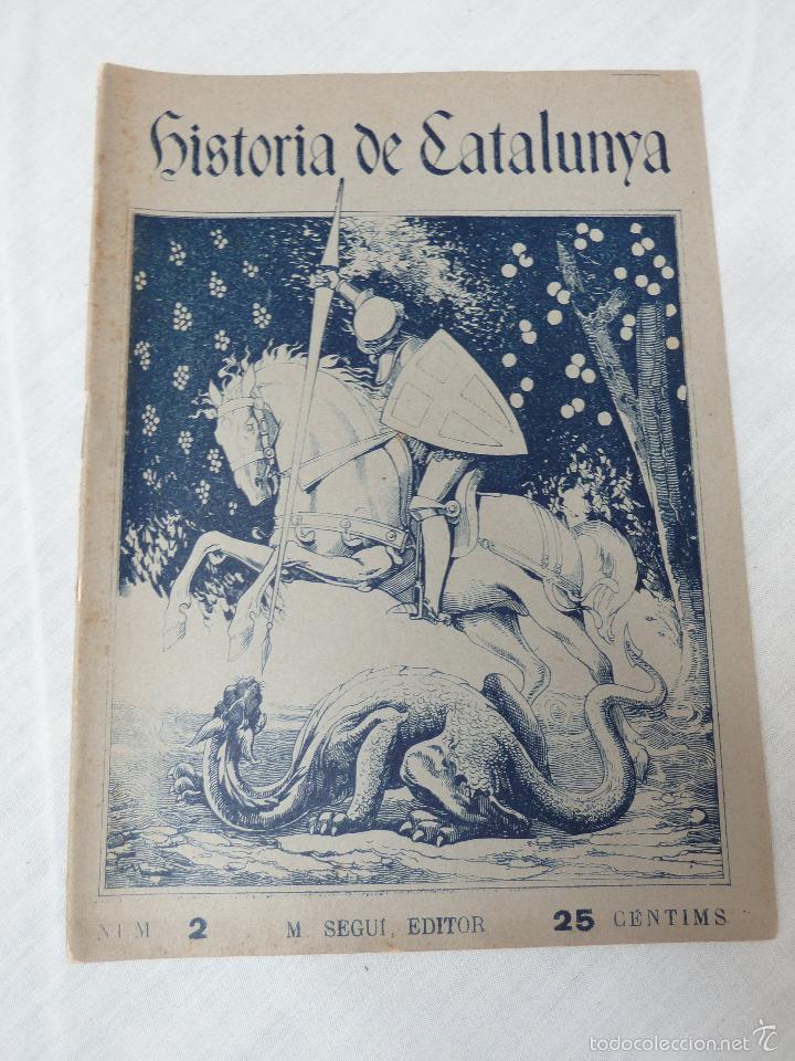 Libros antiguos: HISTORIA (GENERAL) DE CATALUNYA / M. SERRA I ROCA - EDITOR M. SEGUÍ - 1910 A 1922 - COMPLETA - Foto 10 - 57349680