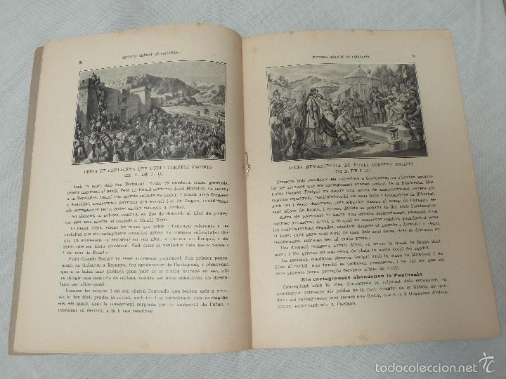Libros antiguos: HISTORIA (GENERAL) DE CATALUNYA / M. SERRA I ROCA - EDITOR M. SEGUÍ - 1910 A 1922 - COMPLETA - Foto 11 - 57349680