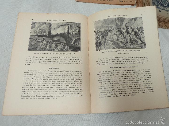 Libros antiguos: HISTORIA (GENERAL) DE CATALUNYA / M. SERRA I ROCA - EDITOR M. SEGUÍ - 1910 A 1922 - COMPLETA - Foto 12 - 57349680