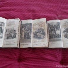 Libros antiguos: LA MORT DEL REY ARTUR EN TRES TOMOS EN INGLES AÑO 1.816. Lote 57425701