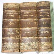 Libros antiguos: JUAN DE MARIANA, PADRE. HISTORIA GENERAL DE ESPAÑA (TOMOS III, V Y VIII). Lote 57498809