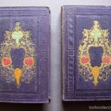 Libros antiguos: HISTORIA DE ITALIA EN DOS VOLÚMENES 1858. Lote 57562837