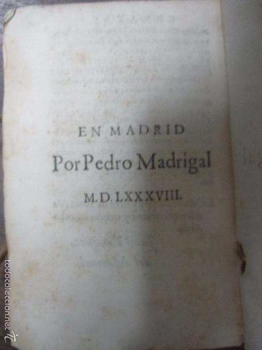 Libros antiguos: HISTORIA ECLESIASTICA DEL SCISMA DEL REYNO DE INGLATERRA. 1588. EN EL CUAL SE TRATAN LAS ... LEER - Foto 4 - 57659813