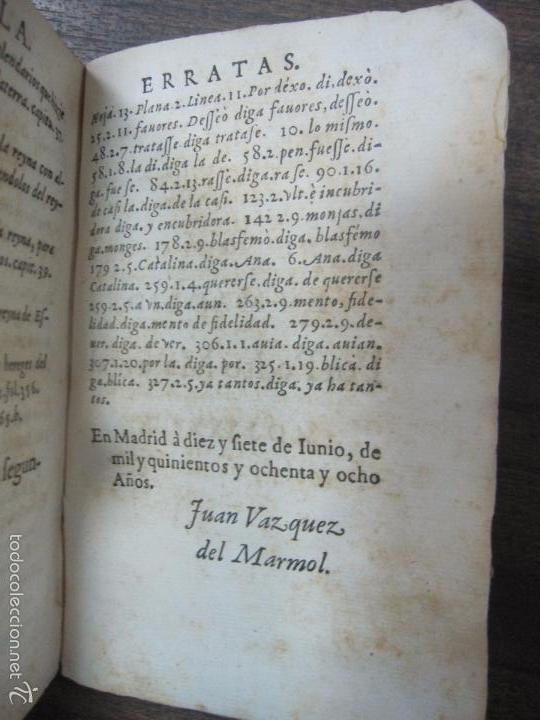 Libros antiguos: HISTORIA ECLESIASTICA DEL SCISMA DEL REYNO DE INGLATERRA. 1588. EN EL CUAL SE TRATAN LAS ... LEER - Foto 9 - 57659813
