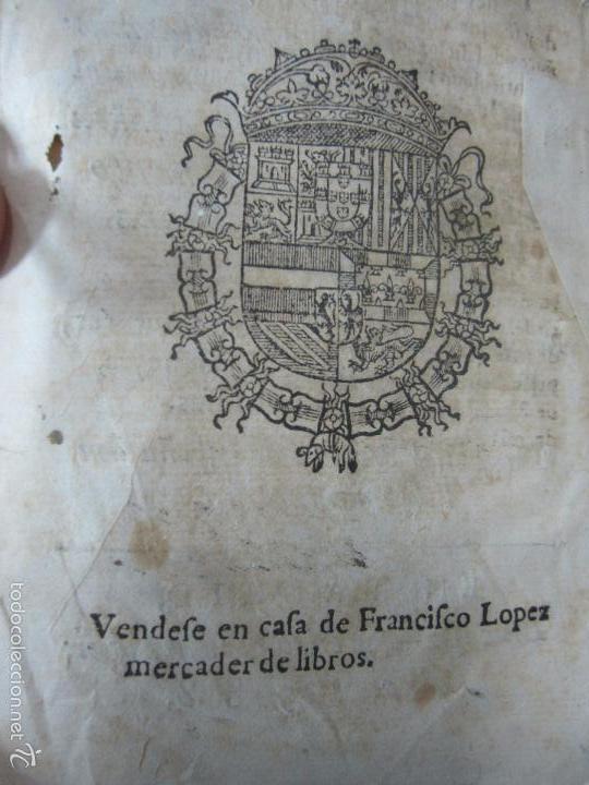 Libros antiguos: HISTORIA ECLESIASTICA DEL SCISMA DEL REYNO DE INGLATERRA. 1588. EN EL CUAL SE TRATAN LAS ... LEER - Foto 13 - 57659813