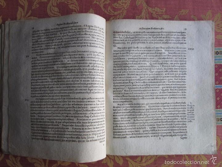 Libros antiguos: 1667-DERECHOS DE ANA DE AUSTRIA.REINA FRANCIA-NAVARRA.HERMANA FELIPE IV.MADRE DE LUIS XIV.ORIGINAL - Foto 4 - 57681189