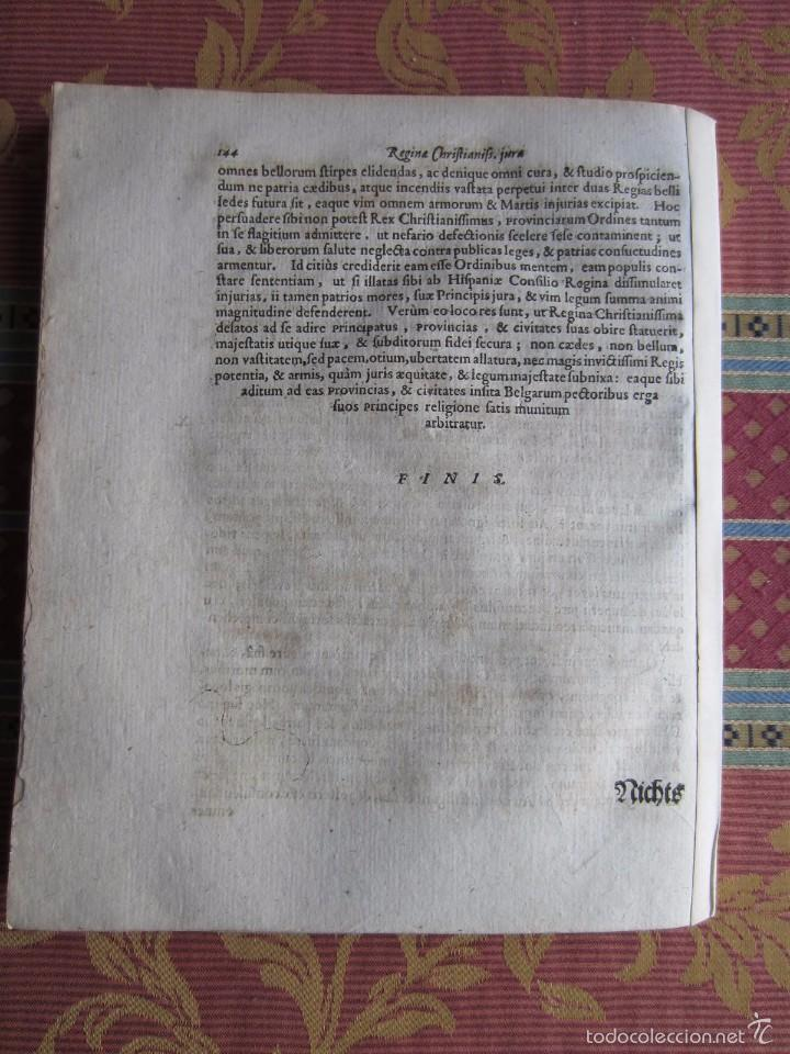Libros antiguos: 1667-DERECHOS DE ANA DE AUSTRIA.REINA FRANCIA-NAVARRA.HERMANA FELIPE IV.MADRE DE LUIS XIV.ORIGINAL - Foto 6 - 57681189