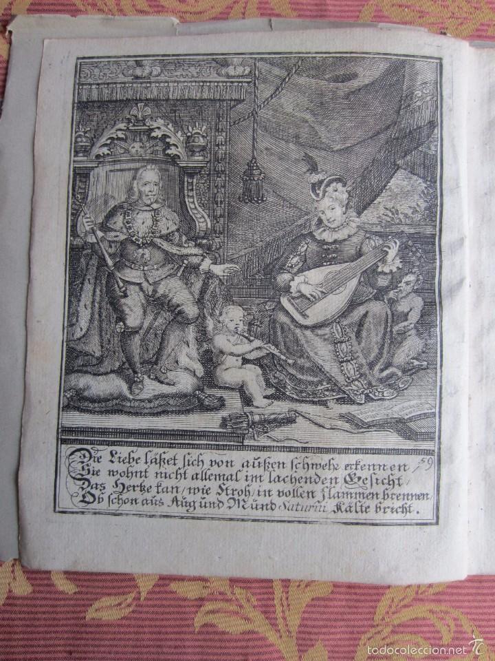 Libros antiguos: 1723-CONVERSACIONES ENTRE FELIPE IV, REY ESPAÑA Y SU HERMANA ANA AUSTRIA.REINA FRANCIA.GRABADO ORIGI - Foto 2 - 57772527
