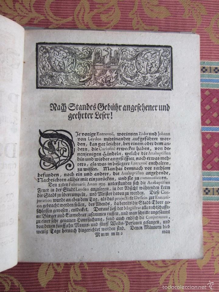 Libros antiguos: 1723-CONVERSACIONES ENTRE FELIPE IV, REY ESPAÑA Y SU HERMANA ANA AUSTRIA.REINA FRANCIA.GRABADO ORIGI - Foto 4 - 57772527