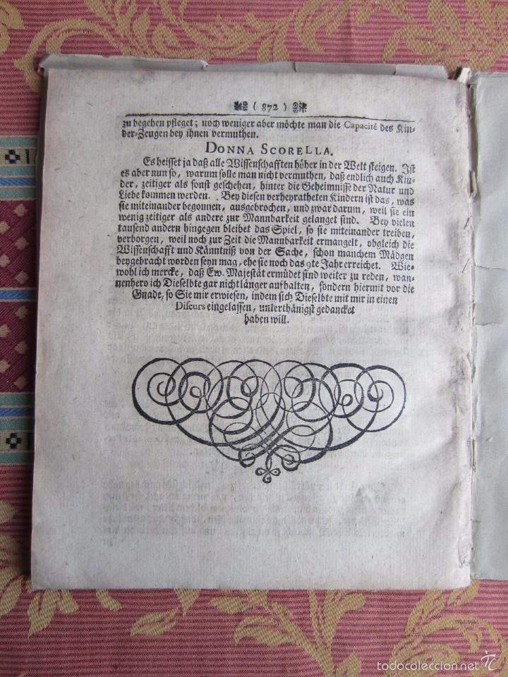 Libros antiguos: 1723-CONVERSACIONES ENTRE FELIPE IV, REY ESPAÑA Y SU HERMANA ANA AUSTRIA.REINA FRANCIA.GRABADO ORIGI - Foto 7 - 57772527