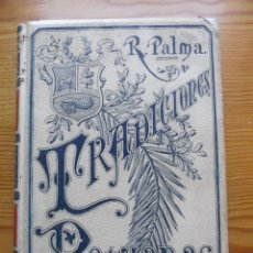 Alte Bücher - TRADICIONES PERUANAS - RICARDO PALMA - TOMO III - 1894. - 57914332