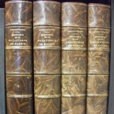 Libros antiguos: AÑO 1860-64 AMADOR DE LOS RÍOS HISTORIA DE LA VILLA Y CORTE DE MADRID - ABUNDANTES LITOGRAFÍAS. Lote 57969935