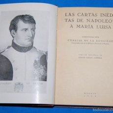 Libros antiguos: LIBRO CARTAS DE NAPOLEON 1935. Lote 57995557