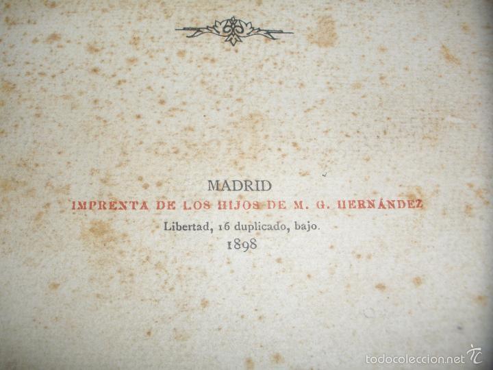 Libros antiguos: EL MARQUES DE LA ENSENADA - ESTUDIOS SOBRE SU ADMINISTRACION - 1898 - Foto 2 - 58380189