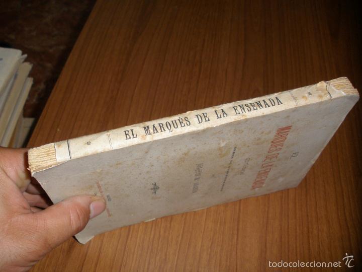 Libros antiguos: EL MARQUES DE LA ENSENADA - ESTUDIOS SOBRE SU ADMINISTRACION - 1898 - Foto 3 - 58380189