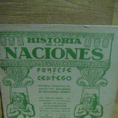Libros antiguos: HISTORIA DE LAS NACIONES - FENICIA Y CARTAGO , CUADERNO Nº 22 - M. SEGUI , EDITOR. Lote 58507533