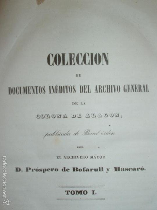 Libros antiguos: COMPROMISO DE CASPE. POR EL ARCHIVERO MAYOR D. PRÓSPERO DE BOFARULL Y MASCARÓ. 1º EDICIÓN 1847 - Foto 2 - 58596315