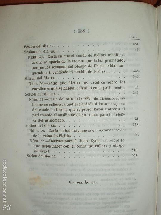Libros antiguos: COMPROMISO DE CASPE. POR EL ARCHIVERO MAYOR D. PRÓSPERO DE BOFARULL Y MASCARÓ. 1º EDICIÓN 1847 - Foto 6 - 58596315