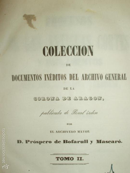 Libros antiguos: COMPROMISO DE CASPE. POR EL ARCHIVERO MAYOR D. PRÓSPERO DE BOFARULL Y MASCARÓ. 1º EDICIÓN 1847 - Foto 7 - 58596315