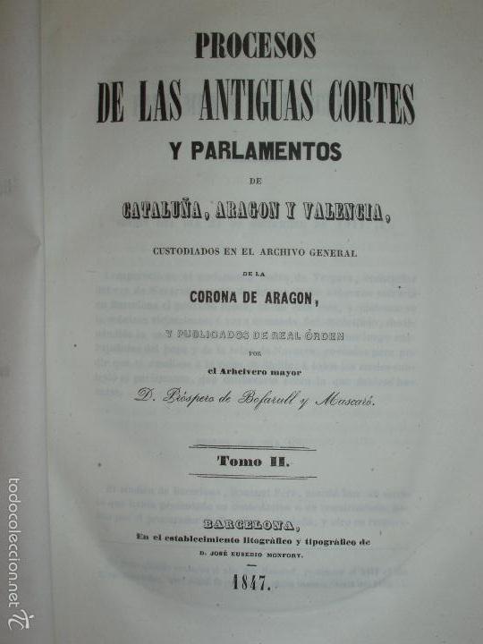 Libros antiguos: COMPROMISO DE CASPE. POR EL ARCHIVERO MAYOR D. PRÓSPERO DE BOFARULL Y MASCARÓ. 1º EDICIÓN 1847 - Foto 8 - 58596315