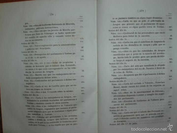 Libros antiguos: COMPROMISO DE CASPE. POR EL ARCHIVERO MAYOR D. PRÓSPERO DE BOFARULL Y MASCARÓ. 1º EDICIÓN 1847 - Foto 13 - 58596315