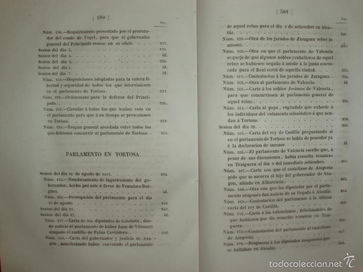 Libros antiguos: COMPROMISO DE CASPE. POR EL ARCHIVERO MAYOR D. PRÓSPERO DE BOFARULL Y MASCARÓ. 1º EDICIÓN 1847 - Foto 14 - 58596315