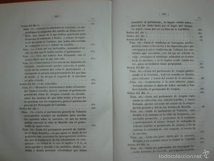 Libros antiguos: COMPROMISO DE CASPE. POR EL ARCHIVERO MAYOR D. PRÓSPERO DE BOFARULL Y MASCARÓ. 1º EDICIÓN 1847 - Foto 15 - 58596315