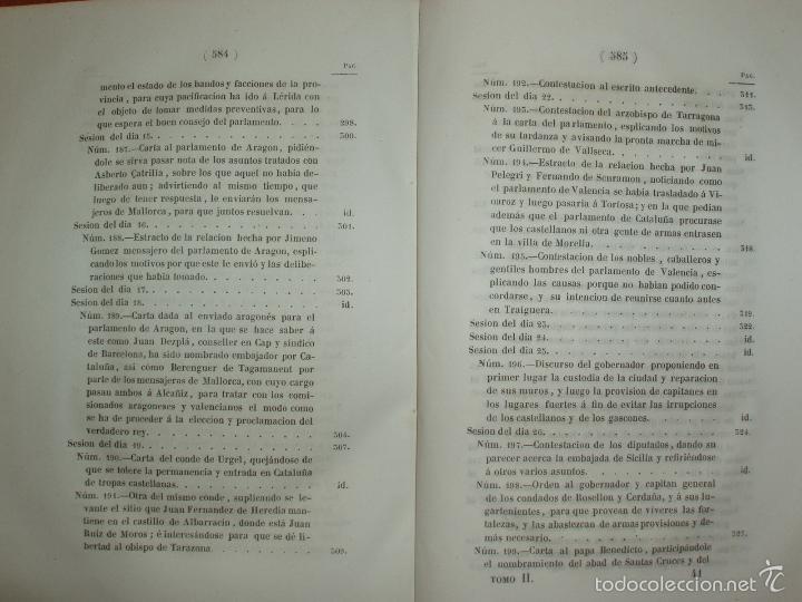 Libros antiguos: COMPROMISO DE CASPE. POR EL ARCHIVERO MAYOR D. PRÓSPERO DE BOFARULL Y MASCARÓ. 1º EDICIÓN 1847 - Foto 16 - 58596315