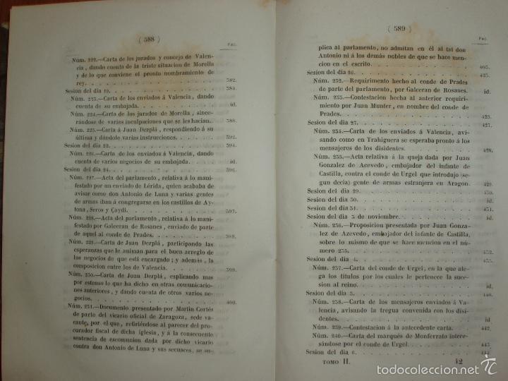 Libros antiguos: COMPROMISO DE CASPE. POR EL ARCHIVERO MAYOR D. PRÓSPERO DE BOFARULL Y MASCARÓ. 1º EDICIÓN 1847 - Foto 17 - 58596315