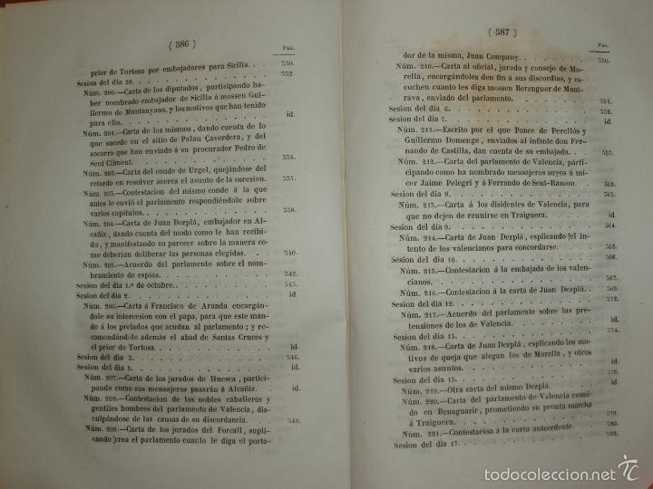 Libros antiguos: COMPROMISO DE CASPE. POR EL ARCHIVERO MAYOR D. PRÓSPERO DE BOFARULL Y MASCARÓ. 1º EDICIÓN 1847 - Foto 18 - 58596315