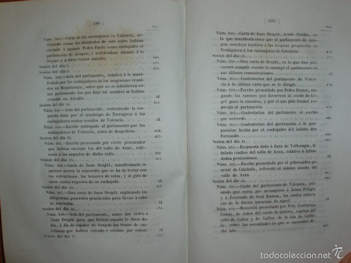 Libros antiguos: COMPROMISO DE CASPE. POR EL ARCHIVERO MAYOR D. PRÓSPERO DE BOFARULL Y MASCARÓ. 1º EDICIÓN 1847 - Foto 19 - 58596315