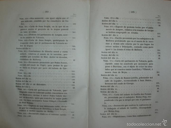Libros antiguos: COMPROMISO DE CASPE. POR EL ARCHIVERO MAYOR D. PRÓSPERO DE BOFARULL Y MASCARÓ. 1º EDICIÓN 1847 - Foto 20 - 58596315