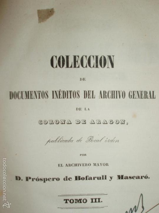 Libros antiguos: COMPROMISO DE CASPE. POR EL ARCHIVERO MAYOR D. PRÓSPERO DE BOFARULL Y MASCARÓ. 1º EDICIÓN 1847 - Foto 22 - 58596315